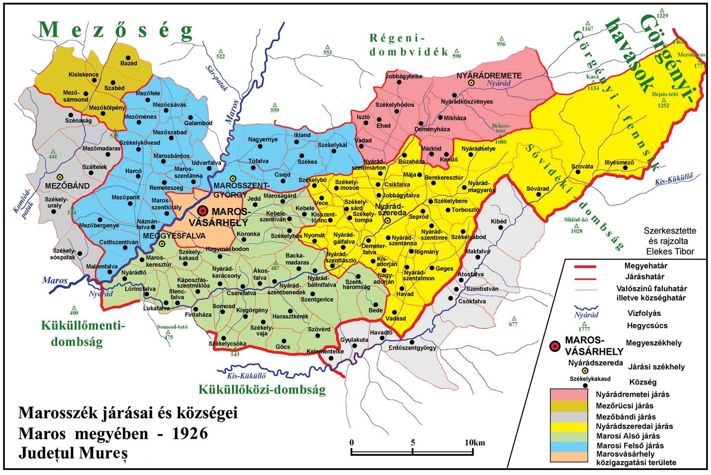 erdély megye térkép Az erdélyi megyék közigazgatási határainak változása a középkortól  erdély megye térkép